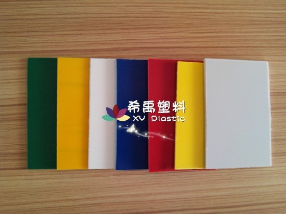 plastic ABS sheet board plate