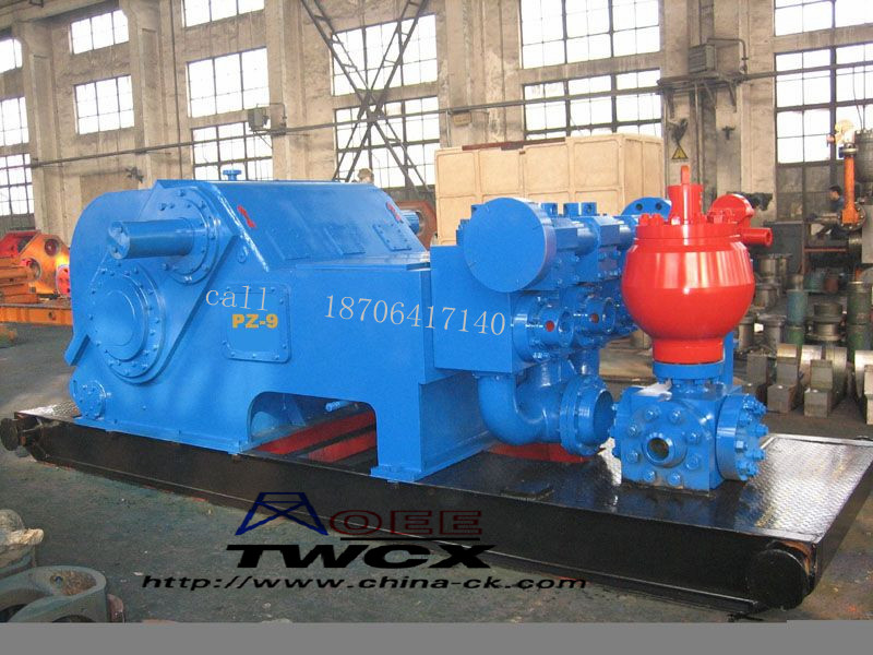 TRIPLEX MUD PUMP PZ-9