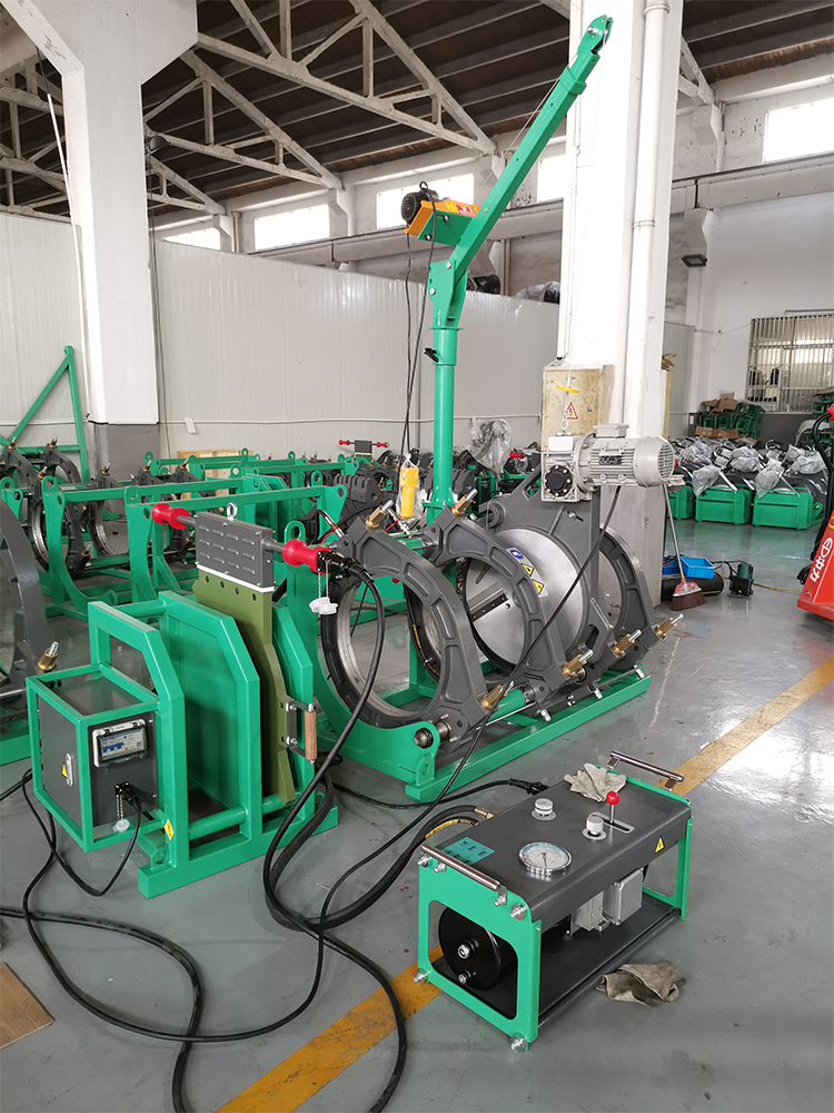 HDPE PIPES Butt Fusion Welding Machine SW-V1000/710H