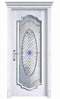 Luxury and Durable Solid Wooden Glass Door, Sized 2,000 x 800 x 40mm, OEM Services Available