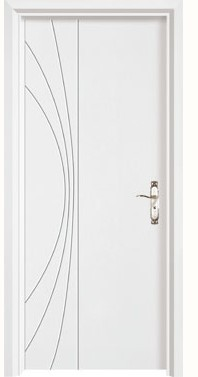 Luxury Carving and Durable Solid Wood Door, Moth/Moisture Proofing, Sound Insulation