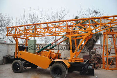 S400 Trailer Mounted Water Well Drilling Rig