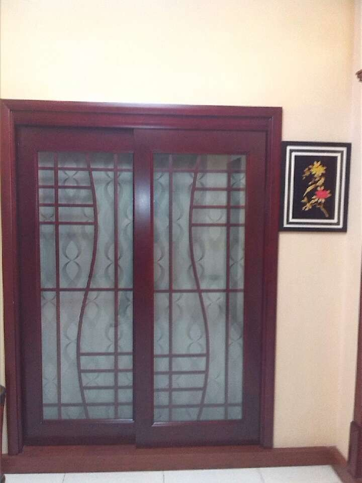 wood composit door for sliding door