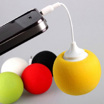 Hot Audio Dock Colorful Balloon Speakers For iPhone/iPad Tablet PC