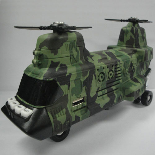 New Arrival Helicopter Gunships Digital Speakers