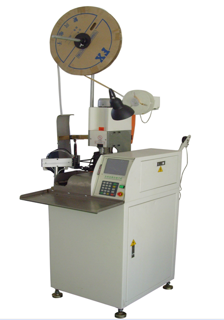 Automatic computer single head terminal crimping machine