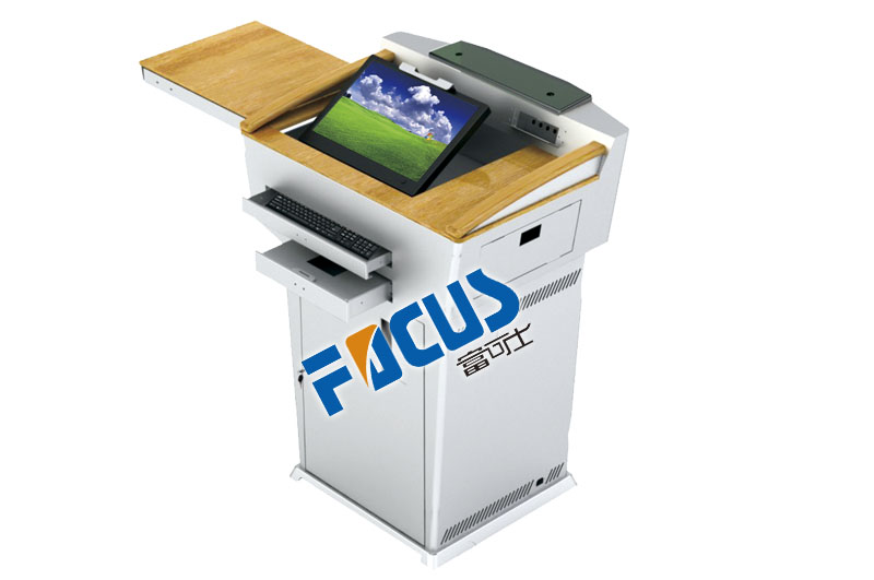focus S900 Acrylic, Cold Rolled Steel, Solid Wood  educational Lectern