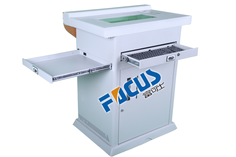 Focus S1000 Multimedia Digital Lectern/Electric Podium/ dispaly platform/display booth