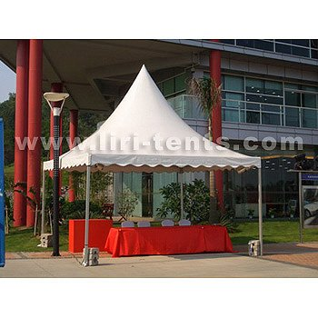 aluminum high peak square Tent