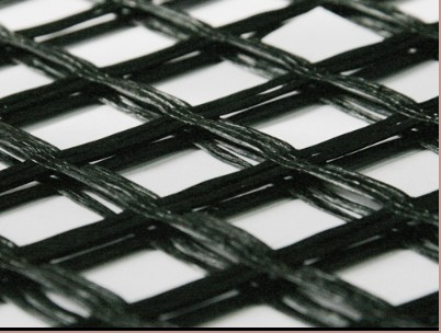 Fiberglass geogrid with anti-corrosive for road construction, CE approved