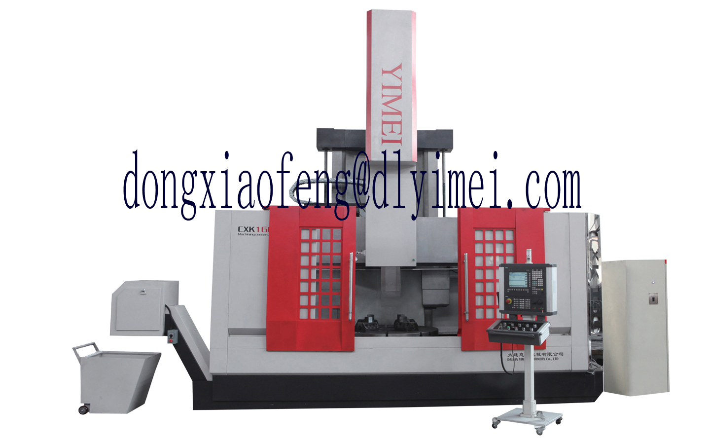 СNC single column turning-milling center machine