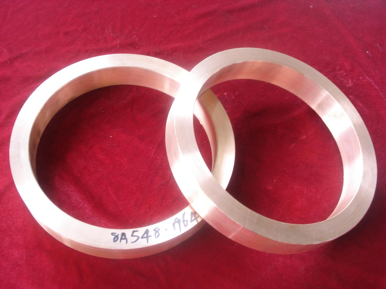 Copper rod and copper end ring for submersible pump rotor