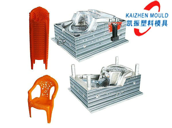 Beautiful design plastic arm chair injection mould