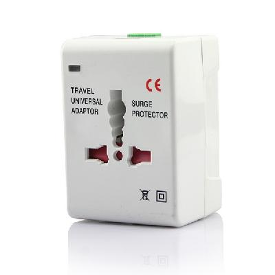 Universal Travel Adapter AC Power Plug All In One with USB Port