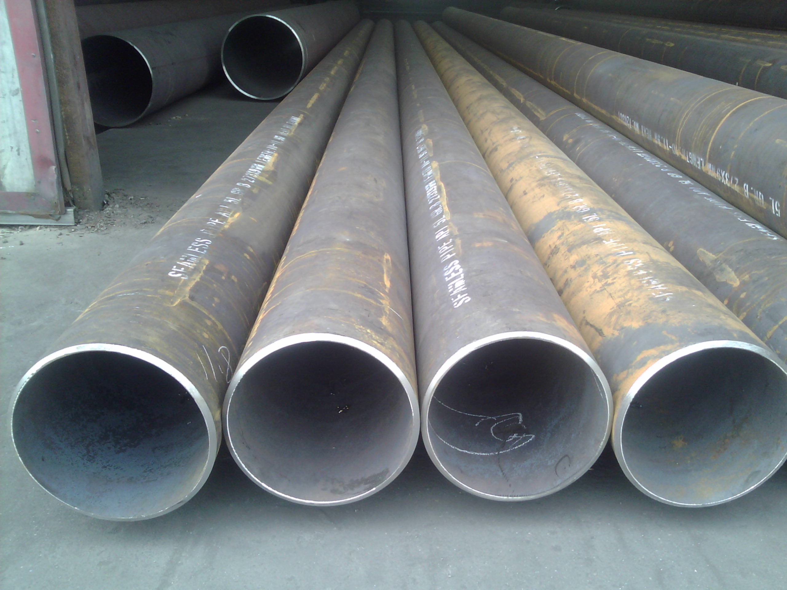 grade B carbon seamless steel pipe