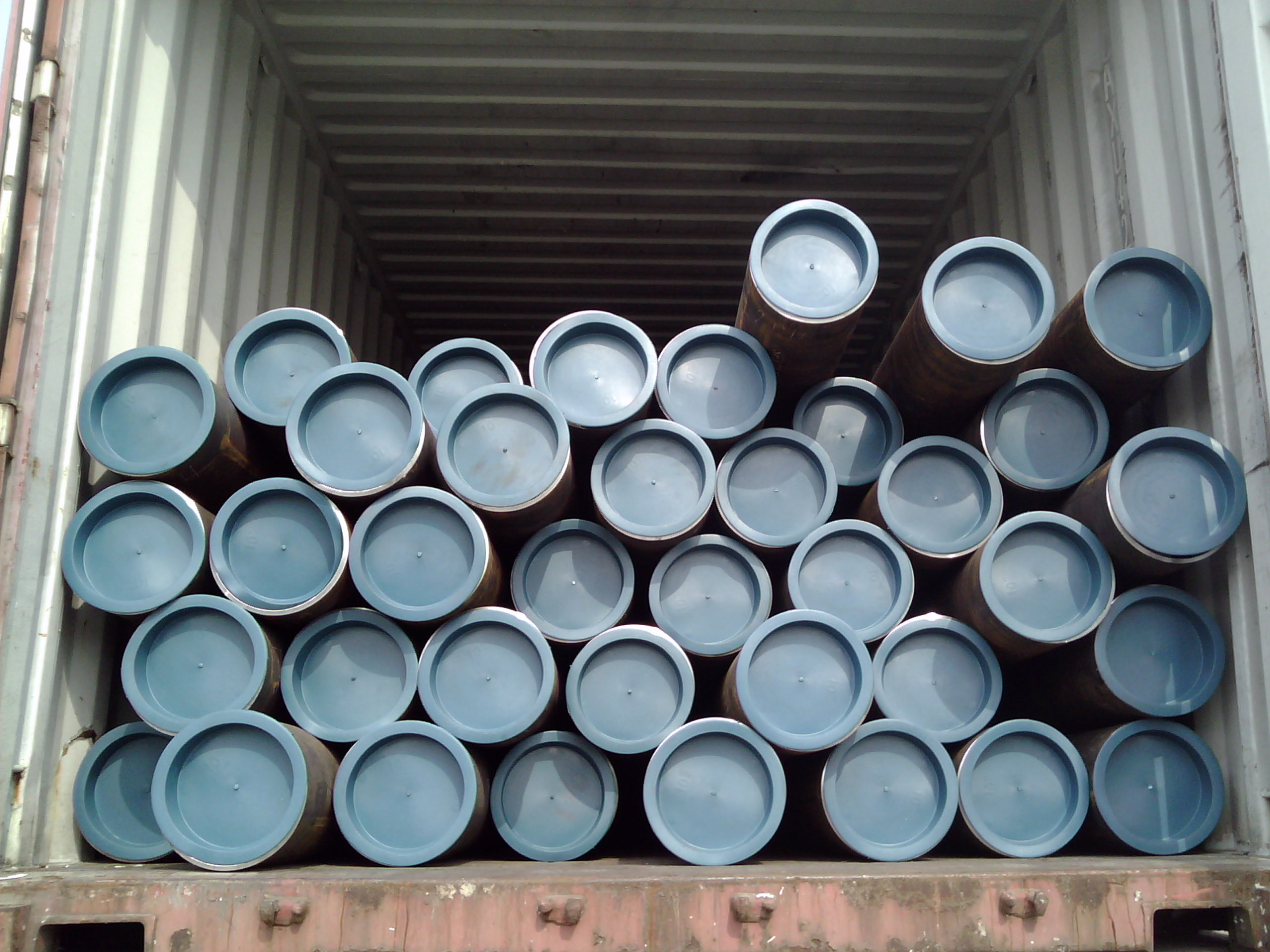 J55 seamless steel casing pipe