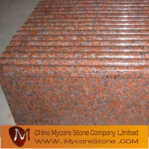 offer Maple red granite step