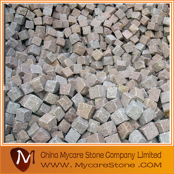 Granite cobble stone