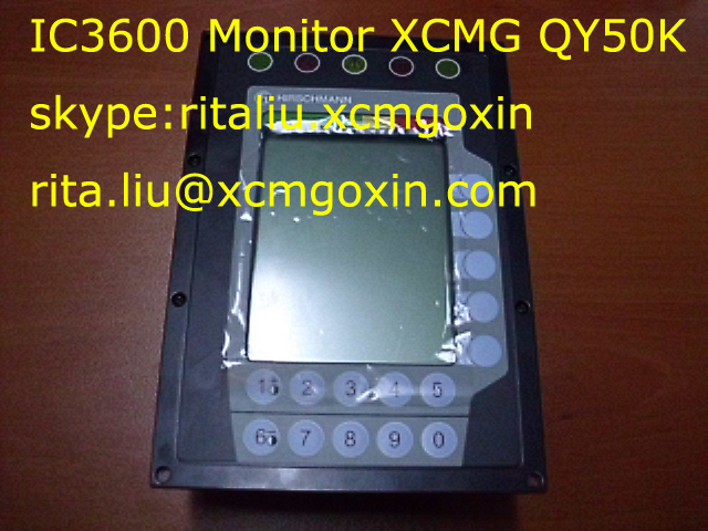 XCMG QY50K Monitor IC3600 200331