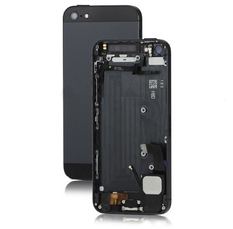 iPhone 5 Back Cover Assembly with Middle Frame Bezel and Other Parts