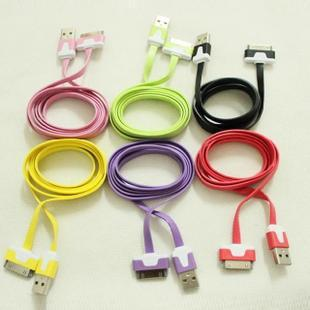 iphone4s/4g/3gs/3g noodle cable