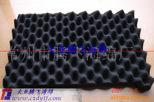 rubber wave foam