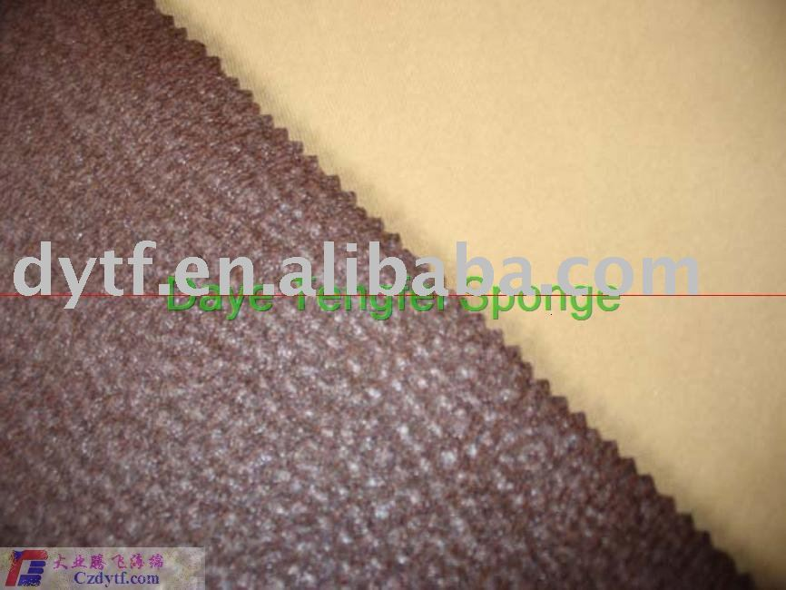 leather compound sponge