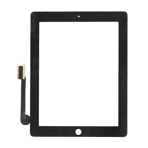 iPad 3 Digitizer Touch Screen  - Black