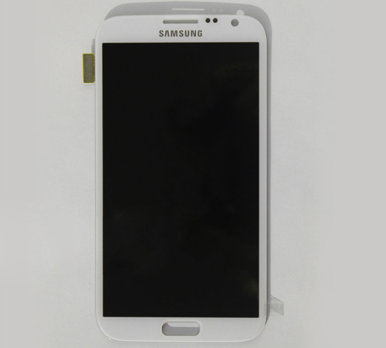 Samsung N7100 Galaxy note2 Complete Digitizer LCD Screen Assembly white