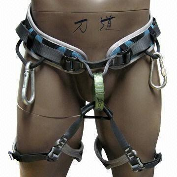 Safety climbing body harness