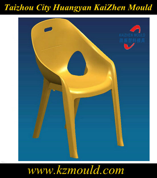 Perfect design injection arm chair plastic mould