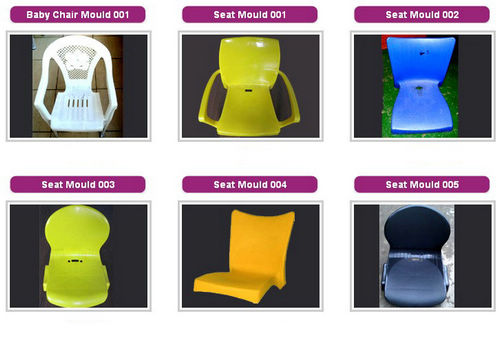 Plastic chair without arms mould,excellent design furniture mould