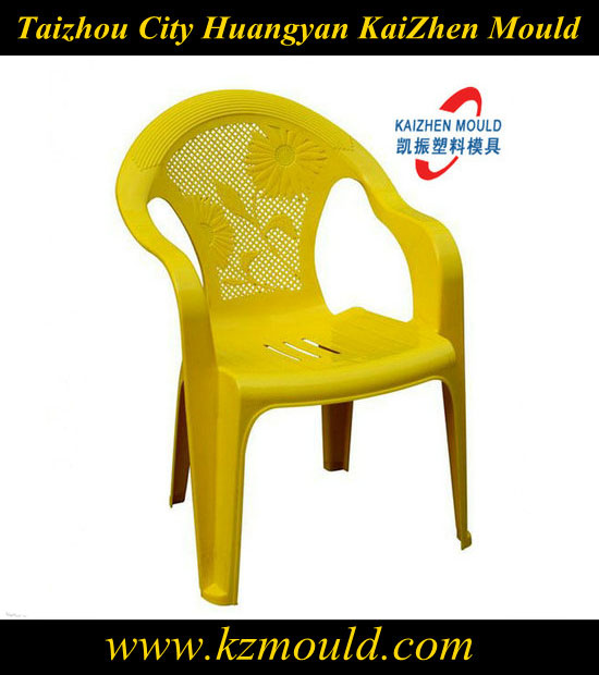 High pecision plastic art chair injection mould