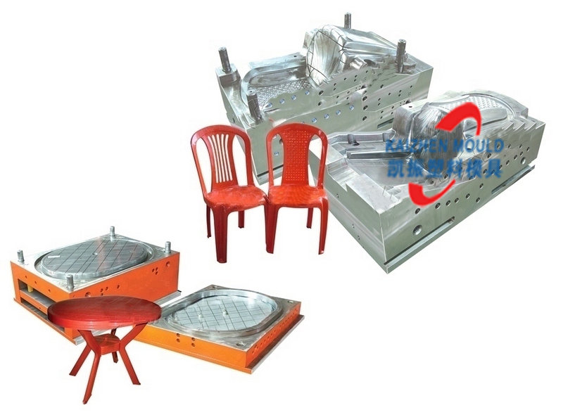 Comfortable plastic office chair injection mold