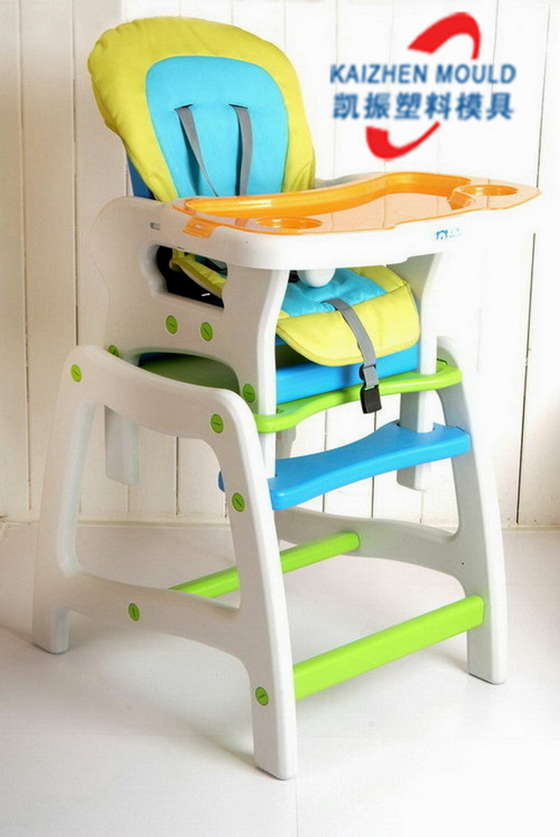 Hot sale plastic child dining chair mould