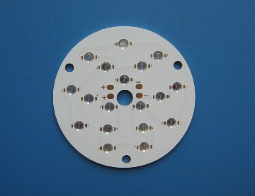 MCPCB with Bowl-shape hole