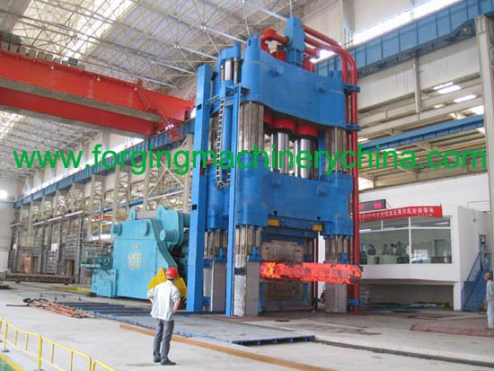 open die forging hydraulic press
