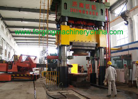 four columns hydraulic press