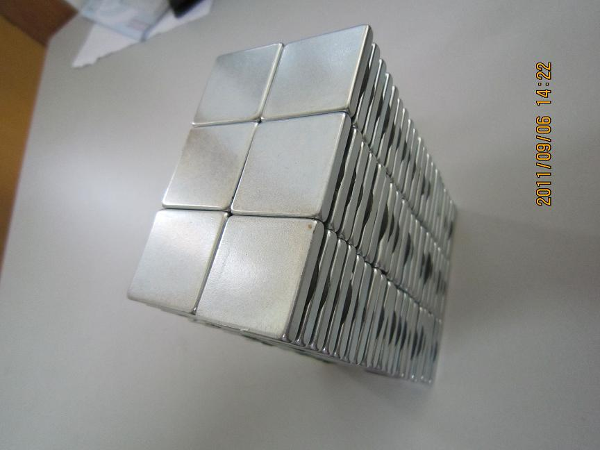 Rectangle NdFeB magnet with holes