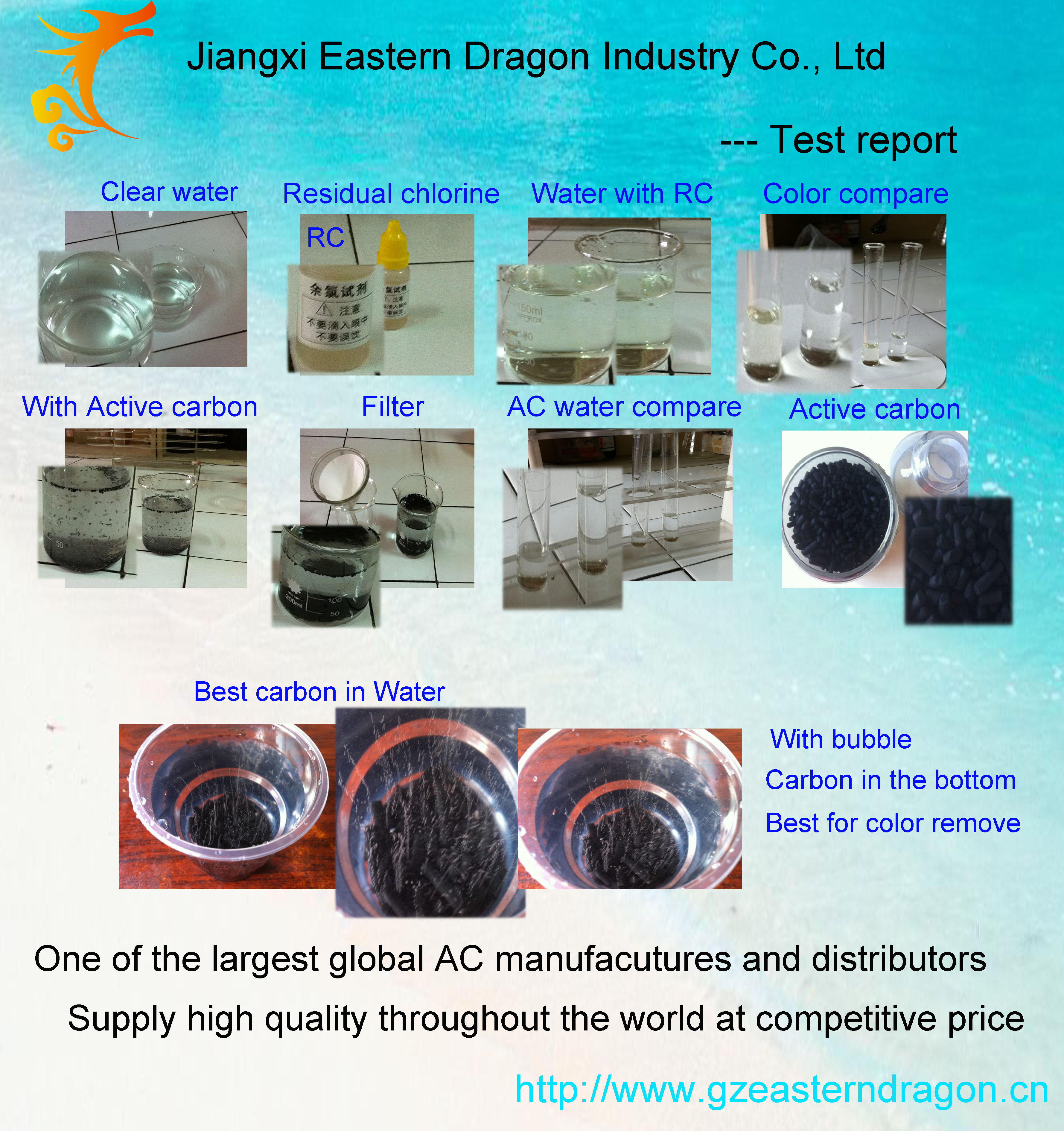 coal based powder activated carbon for water treatment