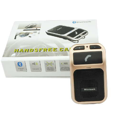Hot selling Bluetooth Hands-free car kit Mould :AJ-BT-60