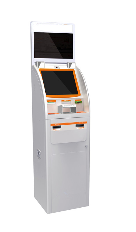 Double Monitors Payment Kiosk, DM001
