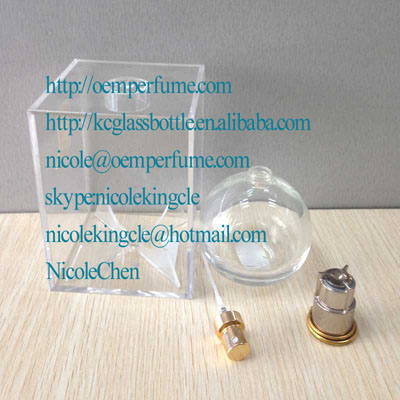 100cm ball glass perfume bottle