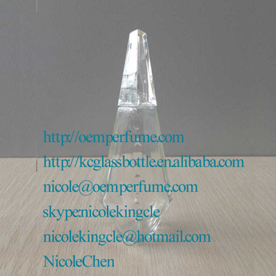 100ml clear perfume bottle for perfume