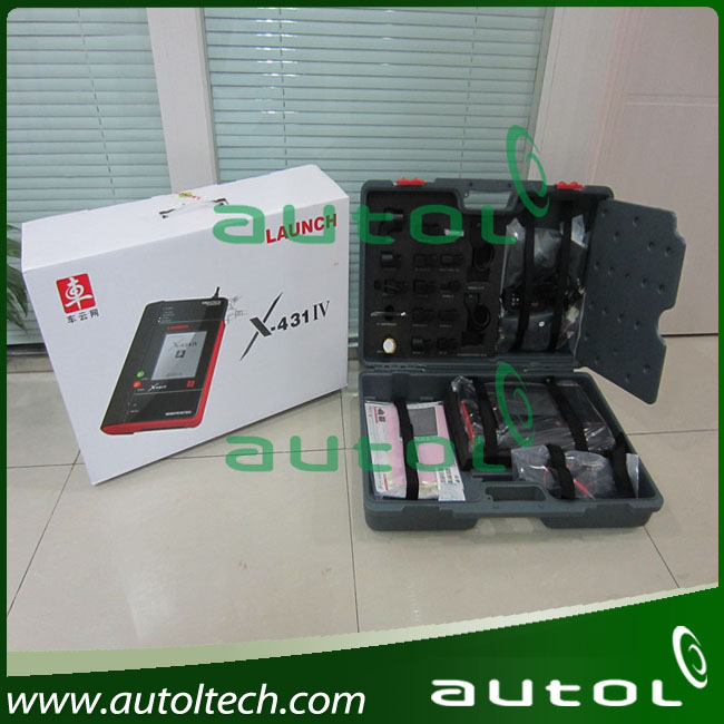 Launch X-431 IV Scanner Latest Replacement of Launch X431 Master