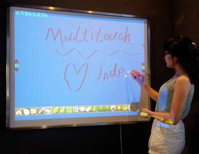 Infrared Multi-touch Interactive Whiteboard