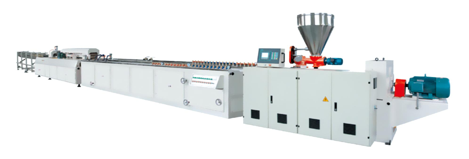 PVC frofile&foamed extrusion line