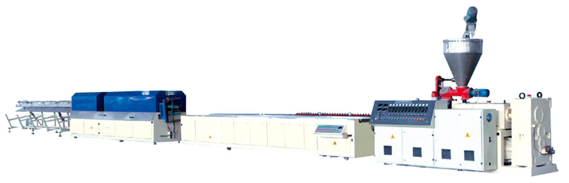 PE/PP and PVC wooden plastic extrusion line