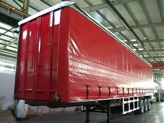 2013 the number one best seller curtain sider semitrailer