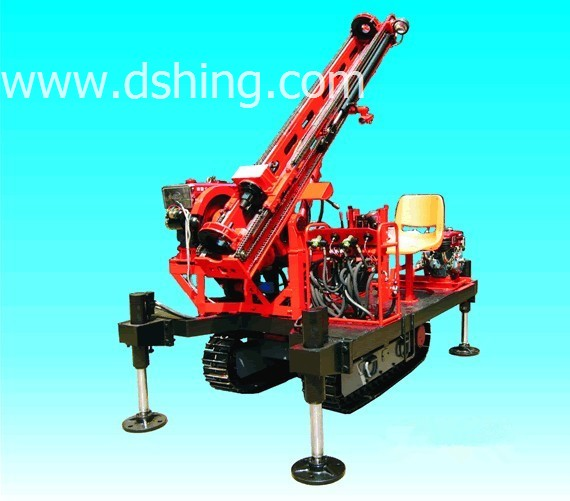 DSHJ-50L Crawler Top-drive Head Portable Water Well Drilling Rig